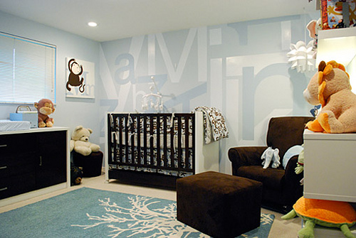 2899231089 8dca5a88da Ambientes que inspiran: Azul + Chocolate + Blanco