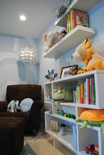 2899231093 a35a636615 o Ambientes que inspiran: Azul + Chocolate + Blanco