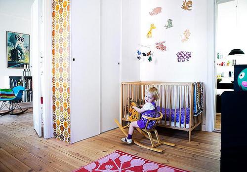 3252584519 a1656ca25e Ambientes que inspiran: Habitación infantil con look vintage