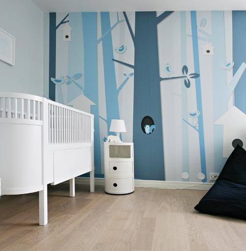 Dormitorio infantil azul Dormitorio infantil en azul