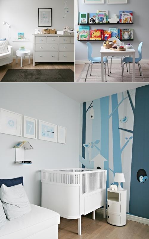 habitacion infantil en azul 2 Dormitorio infantil en azul