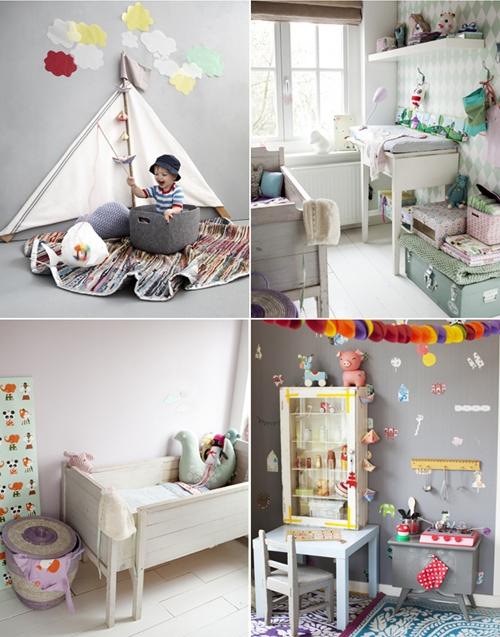 habitaciones infantiles 2 Más ideas para decorar el dormitorio infantil